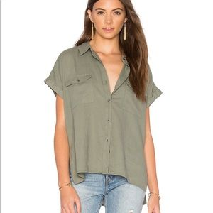 Rails Brittany Top in Sage XS EUC